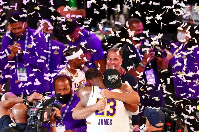 Lakers Are The NBA 2019-20 Champions